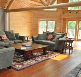Luxury Log Home Woodstock Ny